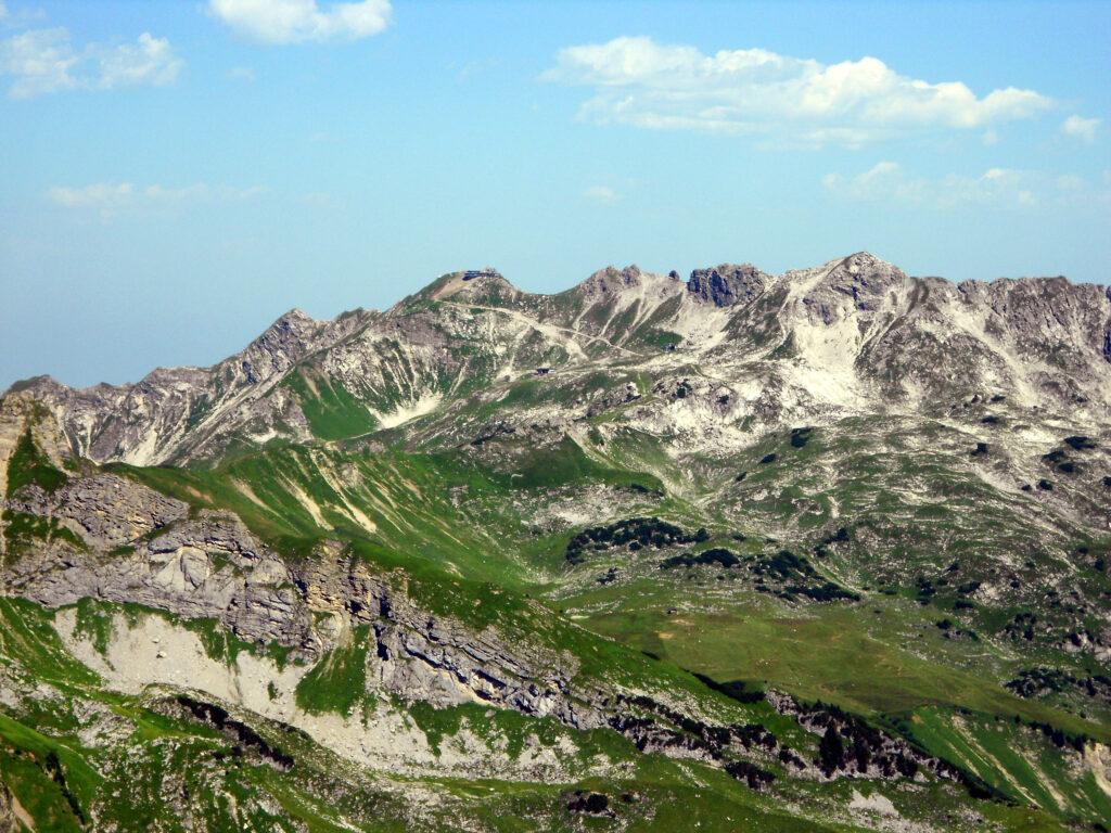Blick zurück Richtung Nebelhorn
