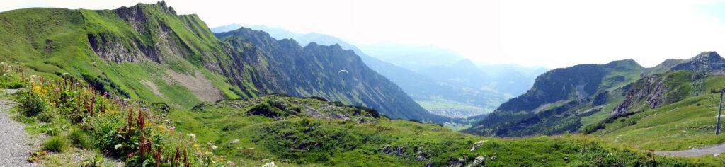 Nebelhorn Bergpanorama